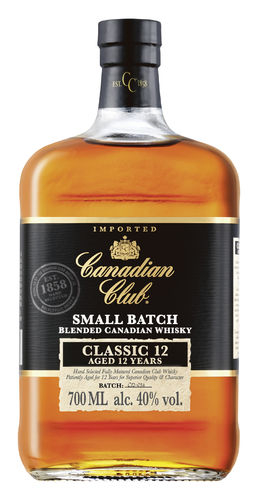 Canadian Club Classic 12 Small Batch Canadian Blended Whisky - 12 Jahre - 40,0% Vol. - 0,7 ltr.