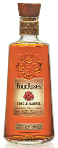 Four Roses Single Barrel Kentucky Straight Bourbon Whiskey - 50,0% Vol. - 0,7 ltr.