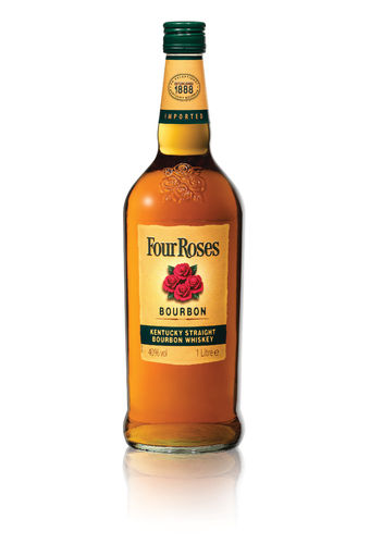 Four Roses Bourbon Kentucky Straight Bourbon Whiskey - 40,0% Vol. - 1,0 ltr.