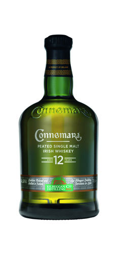 Connemara Peated Single Malt Irish Whiskey - 12 Jahre - 40,0% Vol. - 0,7 ltr.