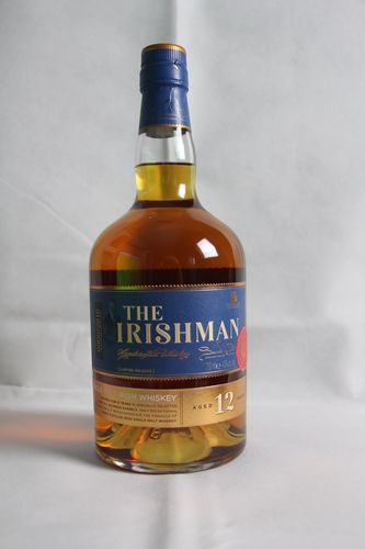 The Irishman Single Malt Whiskey - 12 Jahre - 43,0% Vol. - 0,7 ltr.