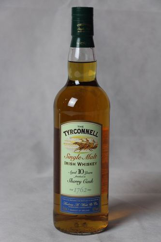 Tyrconnell Irish Single Malt Whiskey Sherry Finish - 10 Jahre - 46,0% Vol. - 0,7 ltr.