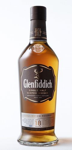 Glenfiddich Small Batch Speyside Single Malt Whisky - 18 Jahre - 40,0% Vol. - 0,7 ltr.