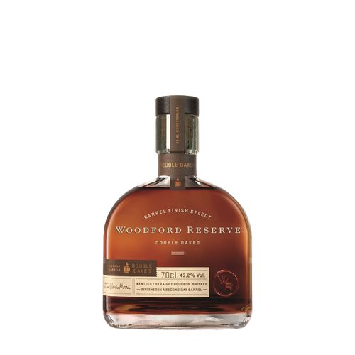 Woodford Reserve Double Oaked Kentucky Straight Bourbon - 43,2% Vol. - 0,7 ltr.