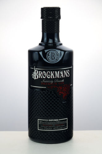 Brockmans Intensly Smooth Premium Gin - 40,0% Vol. - 0,7 ltr.