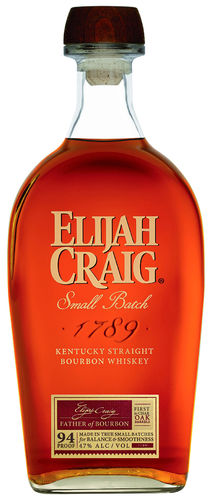 Elijah Craig Small Batch Kentucky Straight Bourbon Whiskey - 47,0 % vol. - 0,7 ltr.