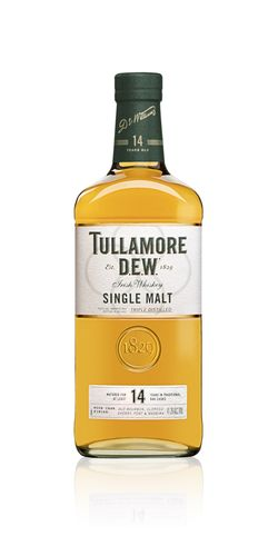 Tullamore D.E.W. Irish Single Malt Whiskey - 14 Jahre - 41,3% Vol. - 0,7 ltr.