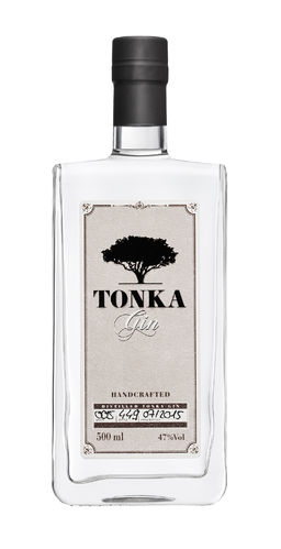 Tonka Gin handcrafted - 47,0% Vol. - 0,5 ltr.