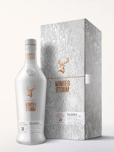 Glenfiddich Winter Storm Speyside Single Malt Whisky - 21 Jahre - 43,0% Vol. - 0,7 ltr.