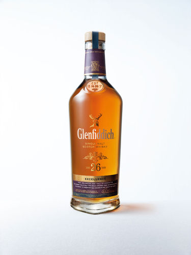Glenfiddich Excellence Speyside Single Malt Whisky - 26 Jahre - 43,0% Vol. - 0,7 ltr.