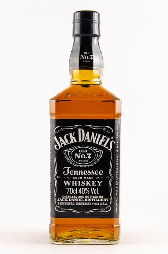 Jack Daniel's Old No. 7 Tennessee Whiskey - 40,0% Vol. - 0,7 ltr.