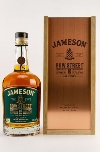 Jameson Bow Street Blended Irish Whiskey - 18 Jahre - 55,3% Vol. - 0,7 ltr.