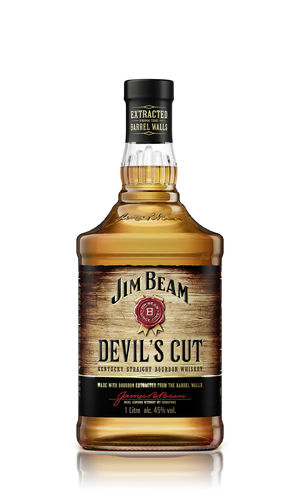 Jim Beam Devil's Cut Kentucky Straight Bourbon Whiskey - 45,0% Vol. - 1,0 ltr.