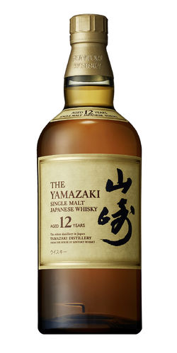 Suntory Yamazaki Japanese Single Malt Whisky - 12 Jahre - 43,0% Vol. - 0,7 ltr.