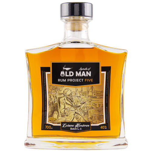 Old Man Rum Project FIVE Leisure Harbour - 40,0% Vol. - 0,7 ltr.
