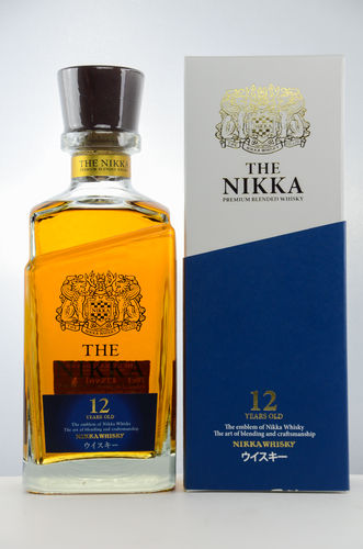 Nikka Premium Japanese Blended Whisky - 12 Jahre - 43,0% Vol. - 0,7 ltr