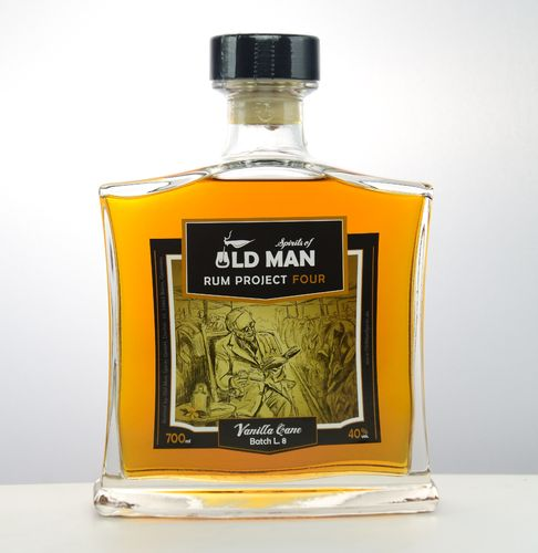 Old Man Rum Project FOUR Vanilla Cane - 40,0% Vol. - 0,7 ltr.