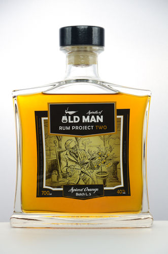 Old Man Rum Project TWO Spiced Orange - 40,0% Vol. - 0,7 ltr.