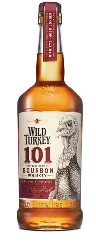 Wild Turkey 101 Proof Kentucky Straight Bourbon Whiskey - 50,5% Vol. - 0,7 ltr.