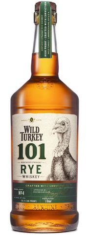 Wild Turkey 101 Proof Kentucky Straight Rye Whiskey - 50,5% Vol. - 1,0 ltr.