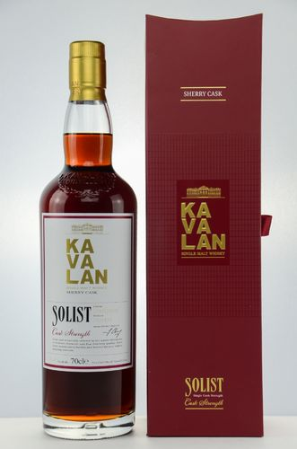 Kavalan Solist Sherry Cask Taiwan Single Malt Whisky - Cask Strength - 59,4% Vol. - 0,7 ltr.