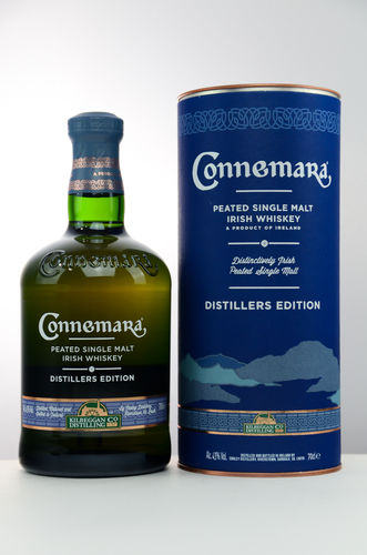 Connemara Distillers Edition Single Malt Irish Whiskey - 43,0% Vol. - 0,7 ltr.