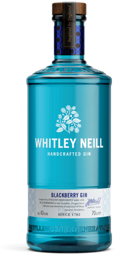 Whitley Neill Blackberry Handcrafted Gin - 43,0% Vol. - 0,7 ltr.