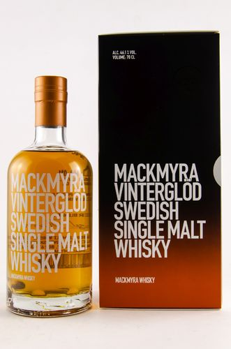 Mackmyra Vinterglöd Sweden Single Malt Whisky - 46,1% Vol. - 0,7 ltr.