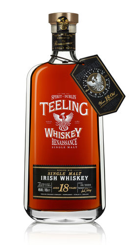 Teeling Renaissance No. 2 Shiraz Cask Single Malt Irish Whiskey - 18 Jahre - 46,0% Vol. - 0,7 ltr.