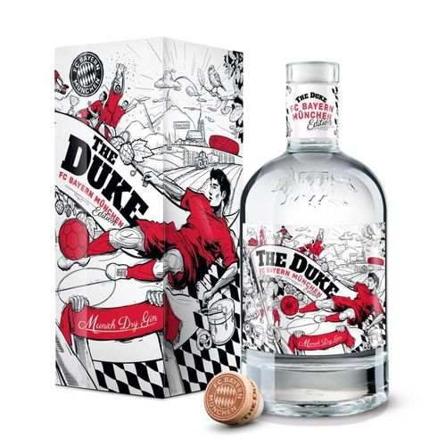 The Duke Munich Dry Gin FC Bayern München Edition - 42,0% Vol. - 0,7 ltr.