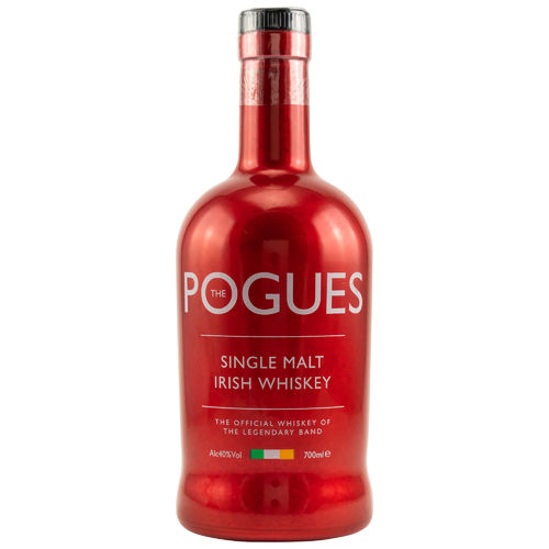 West Cork The Pogues Irish Single Malt Whiskey - 40,0% Vol. - 0,7 ltr.