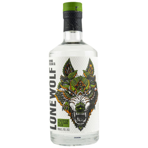 BrewDog Lonewolf Cactus and Lime Gin - 40,0% Vol. 0,7 ltr.