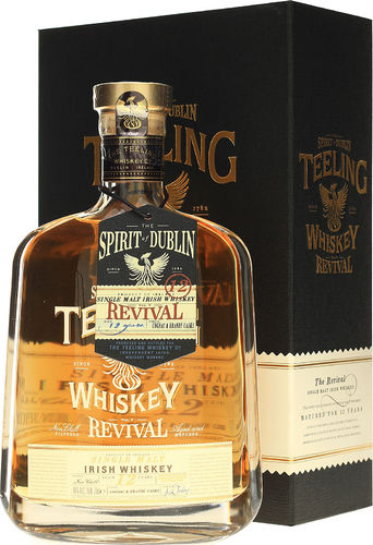 Teeling Revival V - Single Malt Irish Whiskey - 12 Jahre - 46,0% Vil. - 0,7 ltr.