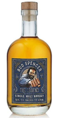 Bud Spencer The Legend Rauchig Batch 01 German Single Malt Whisky - 49,0% Vol. - 0,7 ltr.